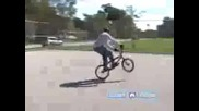 Bmx Tricks, Jumps, And Tips How To Do A 180 On A Bmx Bike Bmx