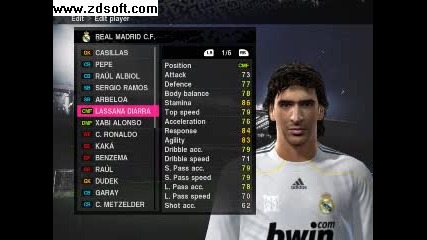Pes 2010 Liverpool And Real Madrid Player Faces + boots