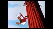 Доналд Дък, Чип и Дейл в горе на дървото - Анимация от 1954 година