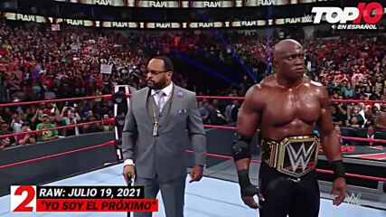 Top 10 Mejores Momentos de RAW: WWE Top 10, Jul 19, 2021