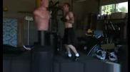 Taekwondo Kickboxing - Тренировка