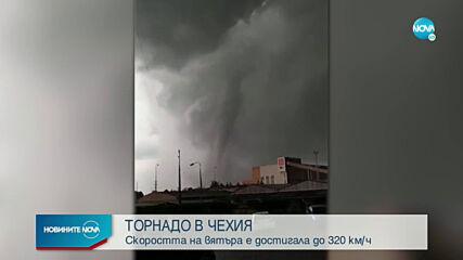Стотици пострадаха след мощно торнадо в Чехия