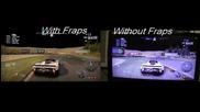Nfs Shift - Fraps vs Without fraps
