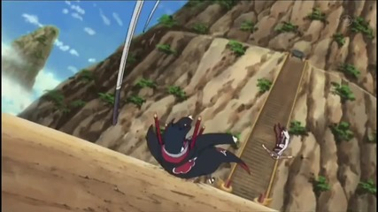 Killer Bee vs Sasuke Move