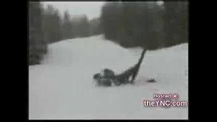 Инциденти в снега