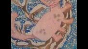 Батик рисунки, Детска школа - Бургас (декември 2009)