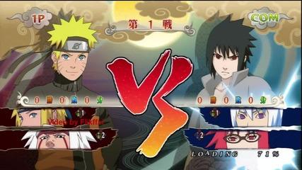 Naruto ninja storm generations - Naruto (в нормарна форма) Vs Sasuke (в Susanoo)
