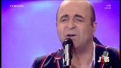 Stella Kalli & Markos Seferlis - Exo mia arravoviara - 3 Live J2us 16.4.14