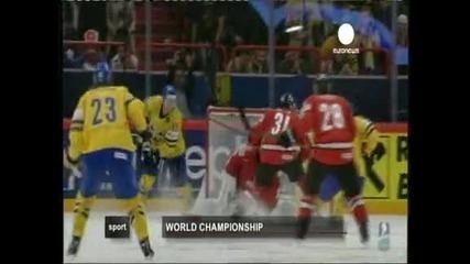 Швеция е новият световен шампион по хокей на лед