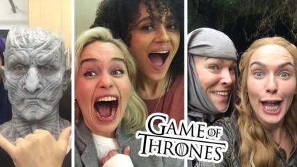 Игра на тронове започна! Как звездите отбелязаха премиерата на сезона?
