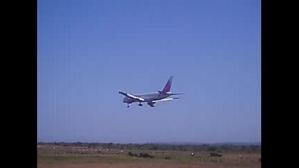 Vim Airlines B757 @ Varna Airport