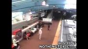 Сблъскат в метрото след неуспешни спирачки