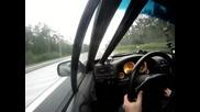 Ето това наричм аз ускорение - Opel Calibra с турбо!