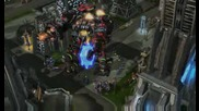 *eксклузивно* Starcraft 2 Terratron City Attack Gameplay