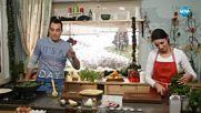 Палачинкова торта с шунка и спанак - Бон Апети (28.12.2017)