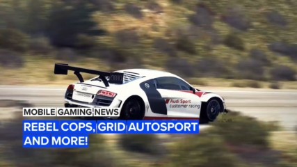 Mobile gaming news: Rebel Cops, Grid Autosport and more!