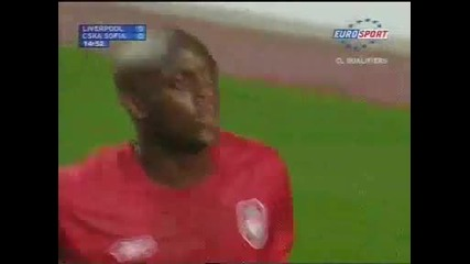 Liverpool 0 - 1 Cska