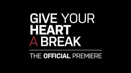 2-ро превю от видеото на Деми Ловато - Give your heart a break