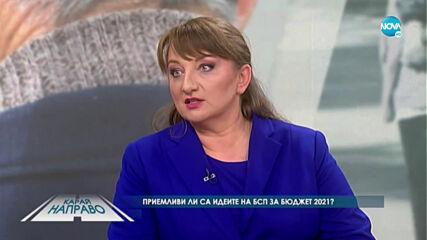 """""""Карай направо"""" с министър Деница Сачева (14.11.2020)"""