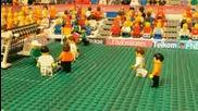 Холандия срещу Дания - Лего