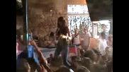 Space Ibiza Opening 2007 - Rebeka Brown at Terrace