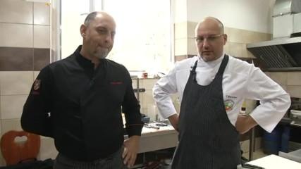 Шеф Саша Мишич разкрива тайните на сръбската кухня