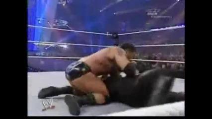 Undertaker vs. Batista Wrestlemania 23 Highlight Reel