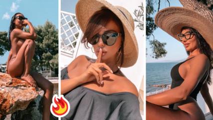 Есен ли? Николета Лозанова и сестра ѝ си пуснаха напълно голи снимки от морето