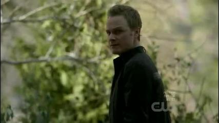 The Vampire Diaries 2x21 сцената с Деймън и Елена