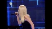 Пламена Петрова - Music Idol 2 - 10.03.08 - Малък концерт - пее великолепно!!! - супер качество