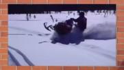 Сняг, лед и катастрофи. Така не се кара, момчета!