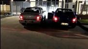 Две Бегачки Subaru Impreza - Antilag Battle !