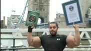 Човекът с най-големи бицепси! Moustafa Ismail