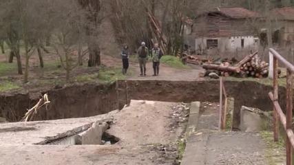 Обилните дъждове и наводнения в Сърбия