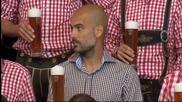 ВИДЕО: Баварски емоции за звездите на Байерн Мюнхен