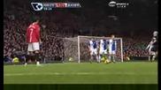 Cristiano Ronaldo Гол срещу Blackburn Rovers!!!