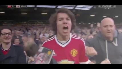 Манчестър юнайтед 3-1 Ливърпул (12-09-2015)