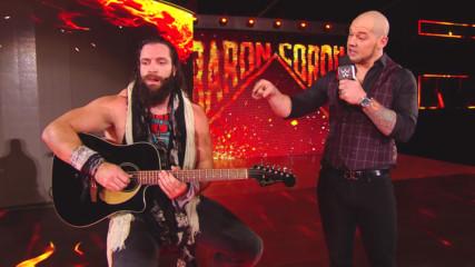 Elias takes out Baron Corbin with his guitar: Raw, Oct. 22, 1018