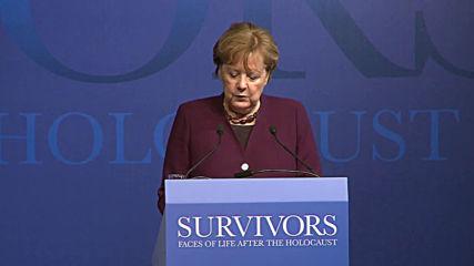 Germany: Merkel opens Holocaust 'Survivors' exhibition on 75th anniversary of Auschwitz liberation