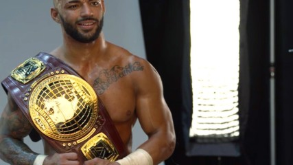 Behind the scenes of Ricochet's NXT North American Title photo shoot: WWE.com Exclusive, Aug. 18, 2018