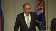 Serbia: Lavrov calls for focus on 'bigger issues' at OSCE Ministerial Council