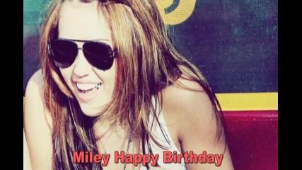 Miley Happy Birthday