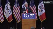 Ejected Crying Baby 'Could Have Been Pavarotti' - Trump