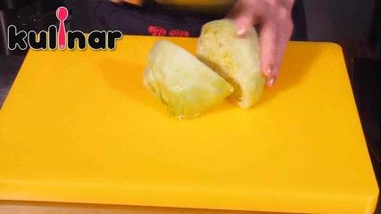 Рецепта за салата с айсберг, авокадо и рукола