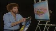S02 Радостта на живописта с Bob Ross E08 - отражения ღобучение в рисуване, живописღ