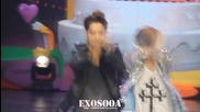 [fancam] 120703 Happy Camp Exo Two Moons Kai focus