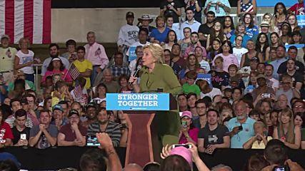 USA: Clinton derides Trump's RNC acceptance speech