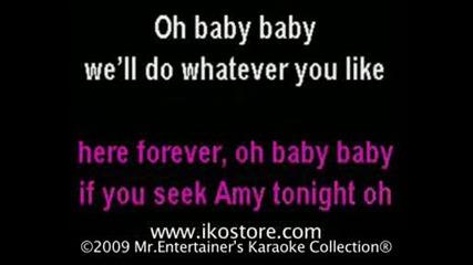 Britney Spears - If U Seek Amy Karaoke