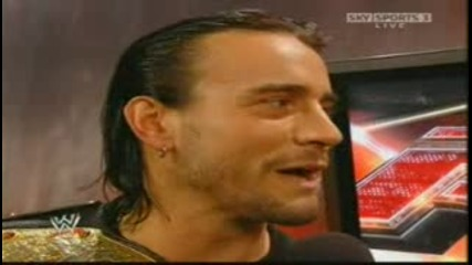 Raw 21.07.2008 - Си Ем Пънк И JBL *BacksTaGe*