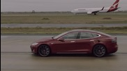 Tesla Model S срещу Boeing 737